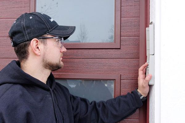 Garage Door Panel Programming